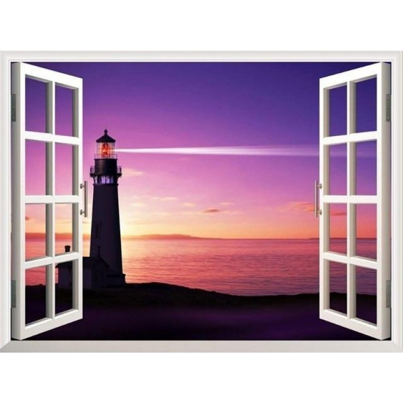 Lighthouses outside ...