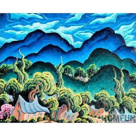 Scenery | Landscape | 5D Diamond Painting | Square/Round Drill