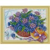 Flowers | 5D Diamond Painting | Partial | Special-shaped Diamond