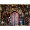 Steampunk Door | 5D Diamond Painting | Square/Round Drill