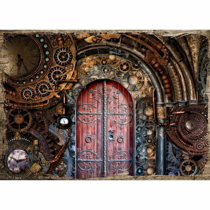 Steampunk Door | 5D Diamo...