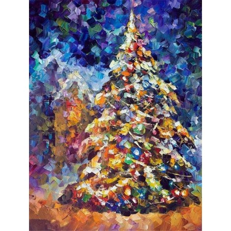Christmas Tree  | Square Diamond
