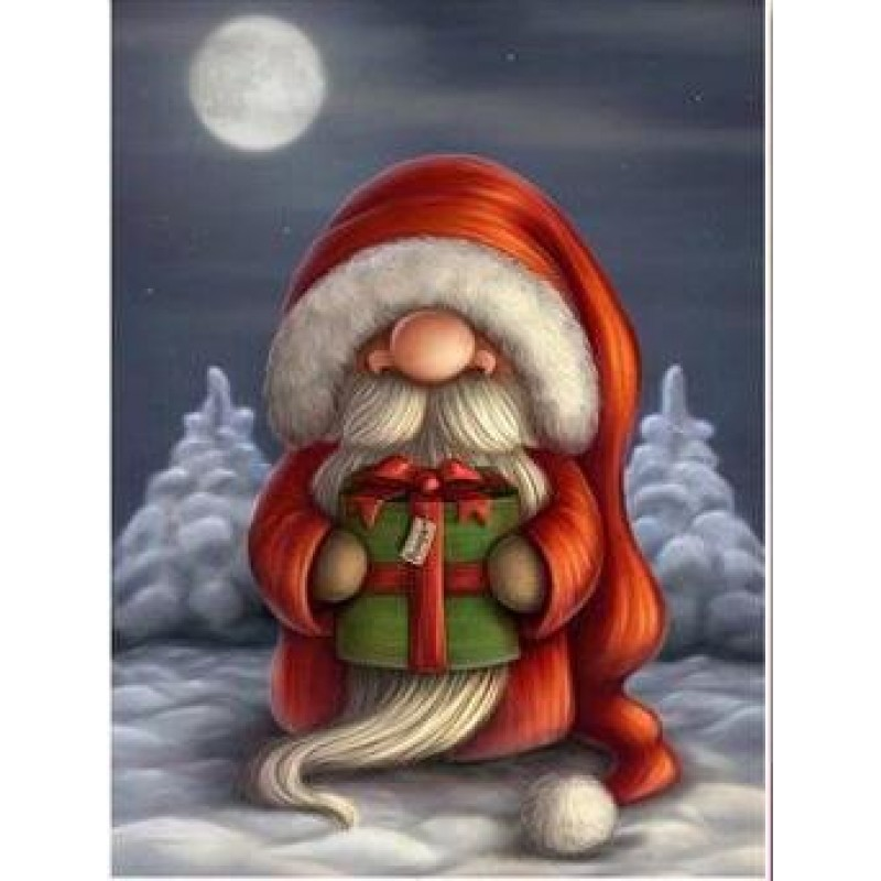 Cartoon Santa Claus ...