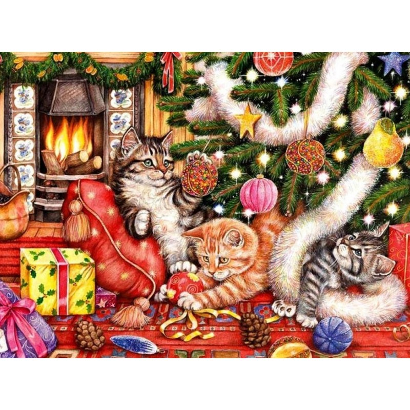 Cats Christmas  | Sq...