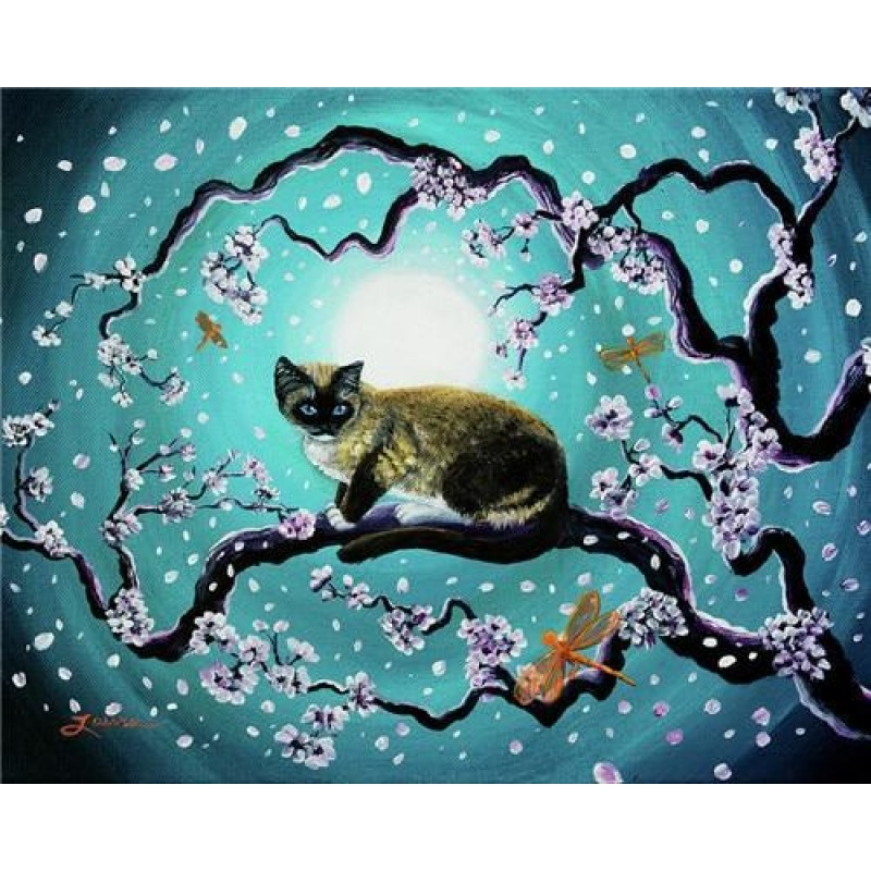 Cats in the moonligh...