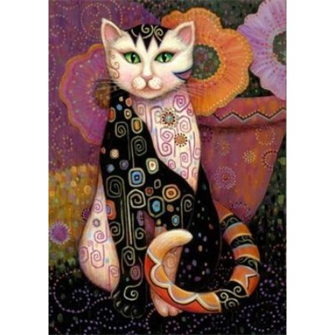 Cat | 5D Diamond Painting | Square Diamond