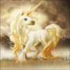 Unicorn | 5D Diamond Painting | Round Diamond
