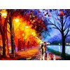 Alley By The Lake | 5D Diamond Painting | Round Diamond