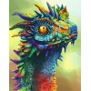 Dragon | 5D Diamond Painting | Square Diamond