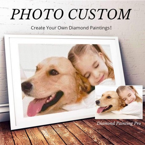 Custom Diamond Painting Kit | Full Drill | UPGRADED