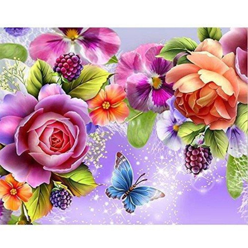 Flower Diamond Painting K...